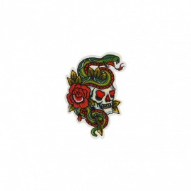 Bikers Collection Iron-On Patch - Skull