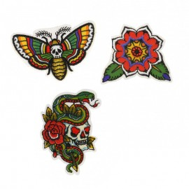 Pack of 3 Bikers Collection Iron-On Patches