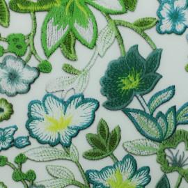 Simili cuir souple Printemps - vert x 10cm