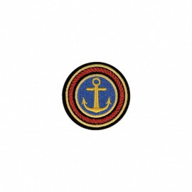 Royale Collection Iron-On Patch - Anchor