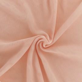 Tissu tulle doux Princesse - Peach x10cm