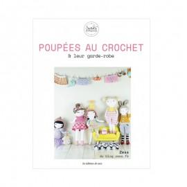 """Livre """"Poupées au crochet & leur garde-robe"""""""