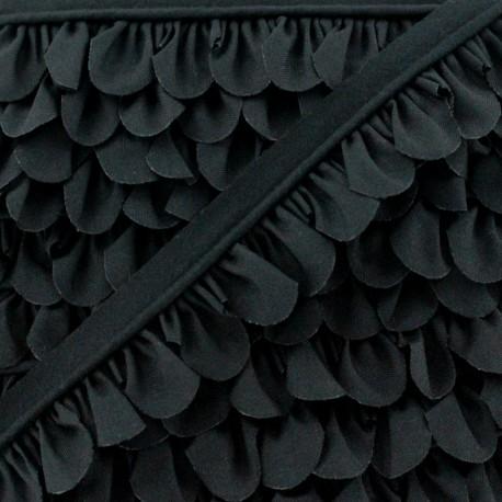 Passepoil Pétale - Noir x 1m