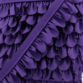Petal Piping - Purple x 1m