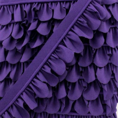 Petal Piping - Purple x 1m