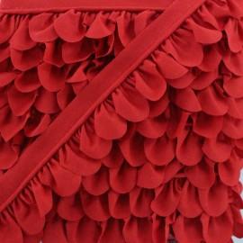 Passepoil Pétale - Rouge x 1m