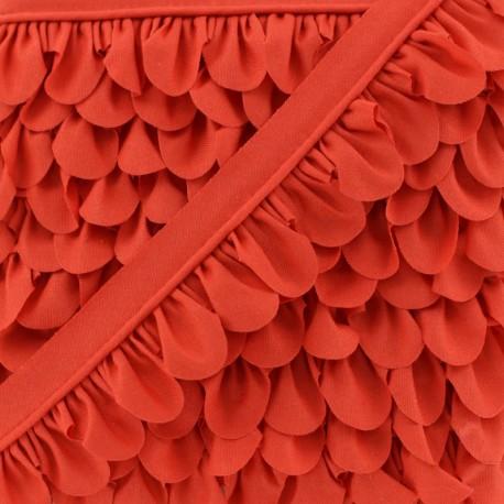 Passepoil Pétale - Rouge Fraise x 1m