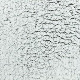 Sheep fur fabric - taupe Léon le mouton x 10cm