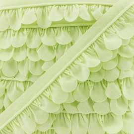 Petal Piping - Linden Green x 1m