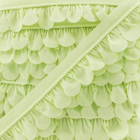 Petal Piping - Linden Green x 1m