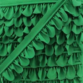 Petal Piping - Green Grass x 1m