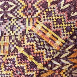 48 mm Elastic Band - Burgundy Jammu x 50cm