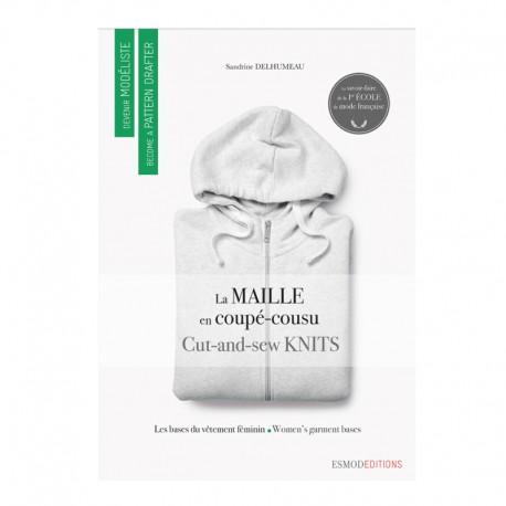 """Livre """"La maille en coupé-cousu - Les bases du vêtement féminin"""""""