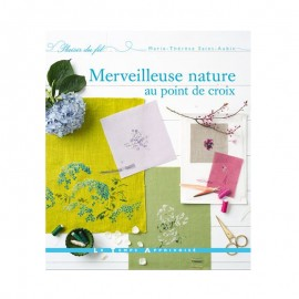 "Book ""Merveilleuse nature au point de croix"""