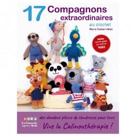 """Livre """"17 compagnons extraordinaires au crochet"""""""