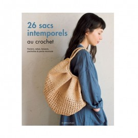 """Livre """"26 sacs intemporels au crochet"""""""