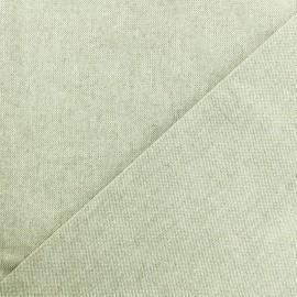 Tissu toile de coton lurex Méhrangarh - naturel x 10cm