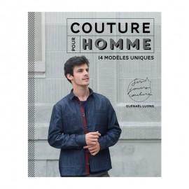 """Livre """"Couture pour homme - 14 modèles uniques"""""""
