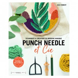 "Book ""Punch needle & Cie"""
