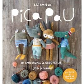 "Book ""Les amis de Pica Pau - 20 amigurumis à crocheter"""