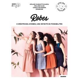 """Book """"Robes - 4 créatrices, 8 robes, une infinité de possibilités"""""""