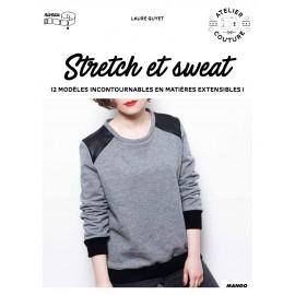 """Livre """"Stretch et sweat - 12 modèles incontournables en matières extensibles"""""""