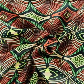 Tissu satin Captivante - vert - x 50cm