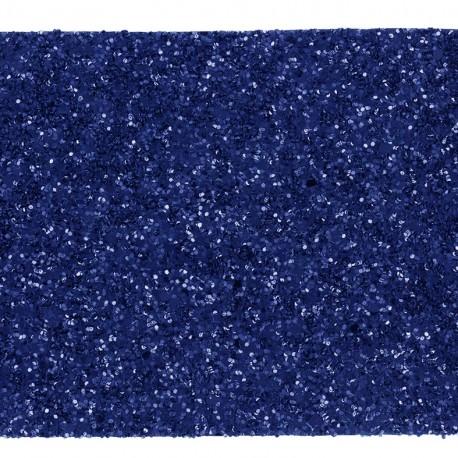 Glittery ribbon 5mm - navy x 1m