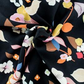 Viscose fabric - Black Séduisante x 50cm