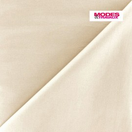 Poplin Fabric - light beige x 10cm