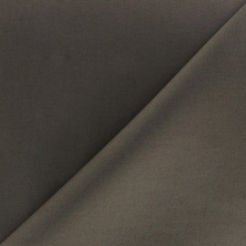 Poplin Fabric - Dark taupe x 10cm