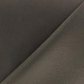 Tissu Popeline taupe foncé x10cm