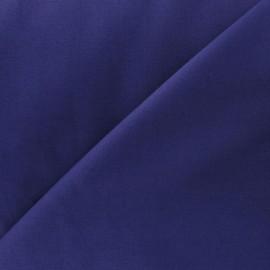 Tissu Popeline encre violette x10cm