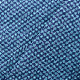 Petit Pan Cotton fabric - Blue Bubble x 10cm