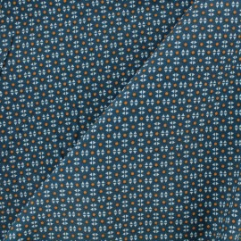Petit Pan Cotton fabric - Storm Grey Mikado x 10cm