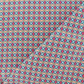 Tissu coton Petit Pan Jokull - vert x 10cm