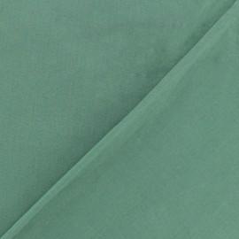 Tissu Oeko-tex Popeline - vert sauge x10 cm