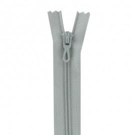 Fermeture Eclair® non séparable - gris
