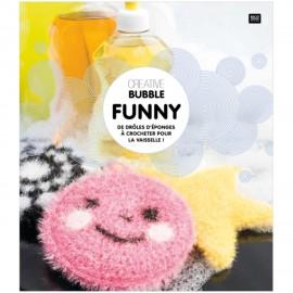 """Livre """"Creative Bubble Funny - De drôles d'éponges à crocheter"""""""