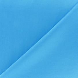 Tissu Oeko-tex Popeline turquoise x10cm