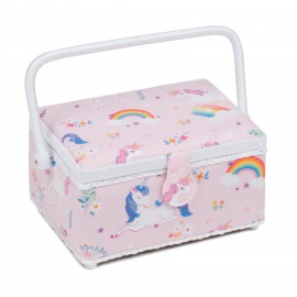 Medium Size Sewing Box - Unicorn