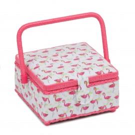 Boite à Couture Taille S - Flamingo Flock