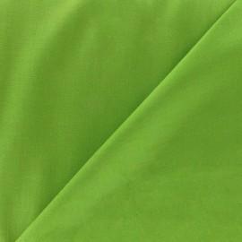 Tissu Voile de coton vert mousse