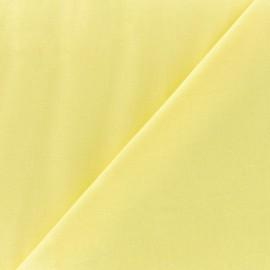 Tissu voile de coton citronnade x 10cm