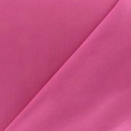 Tissu voile de coton fuchsia x 10cm