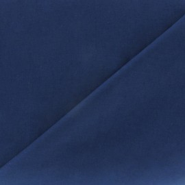 Tissu voile de coton marine x 10cm