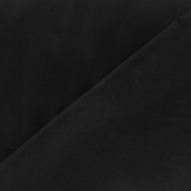 Cotton Veil Fabric - Black x 10cm