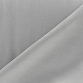 Tissu Voile de coton gris souris