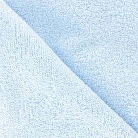 Thalasso Towel fabric - sky blue x 10cm