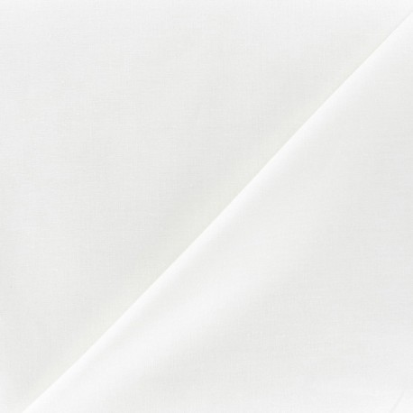 Cotton Veil Fabric - Ecru x 10cm